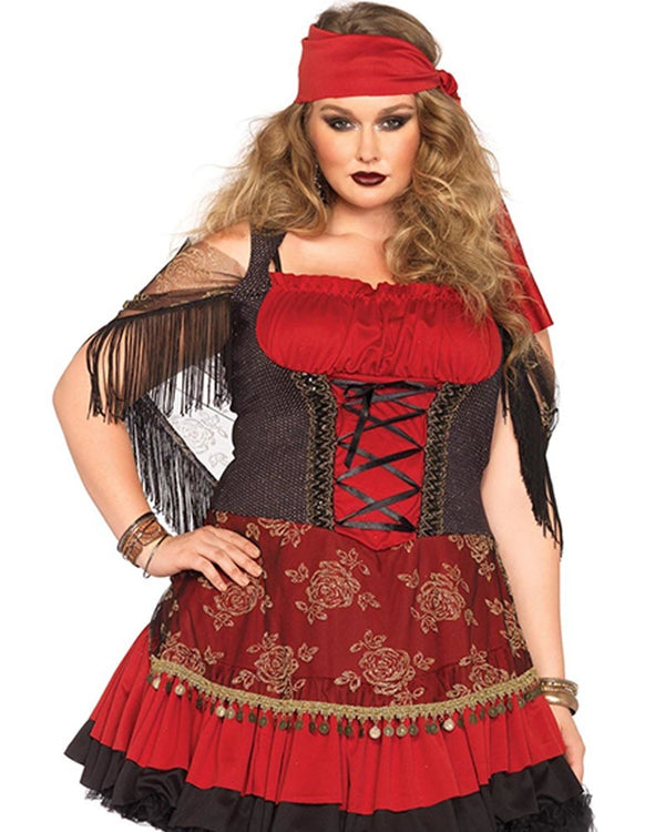 Plus Size Magical Gypsy Costume