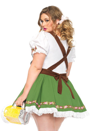 Plus Size Oktoberfest Sweetie Costume