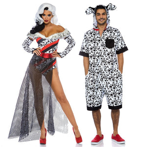 Men's Dalmatian Jumpsuit