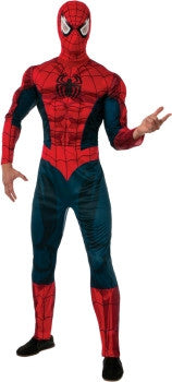 Deluxe Adult Spiderman Costume
