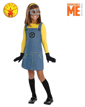 Despicable Me Girls Minion Costume