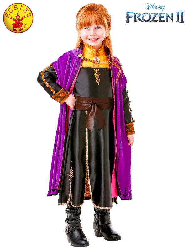Frozen 2 Anna Premium Kid's Costume