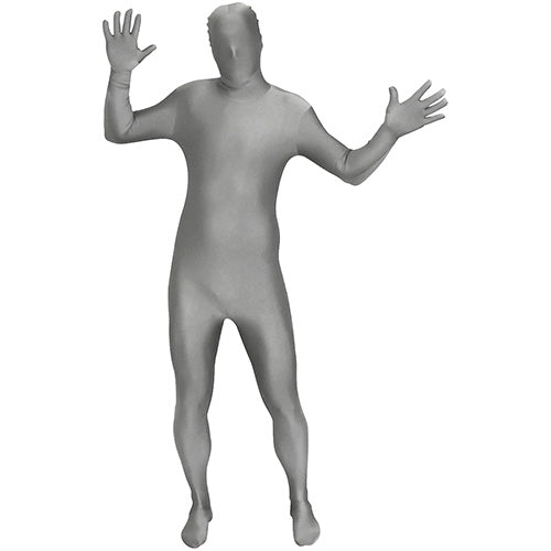 Grey Deluxe Morphsuit