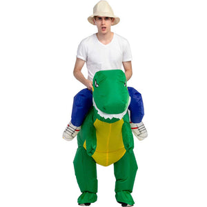 Inflatable Ride On Dinosaur Costume