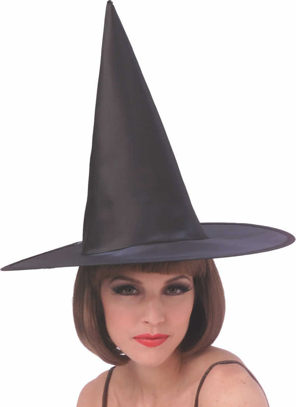 Adult's Black Witches Hat