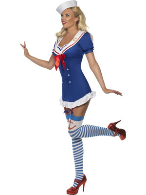 Ahoy! Ladies Sailor Costume