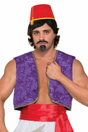 Purple Aladdin Costume Vest