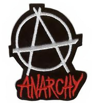 Anarchy Iron on Patch