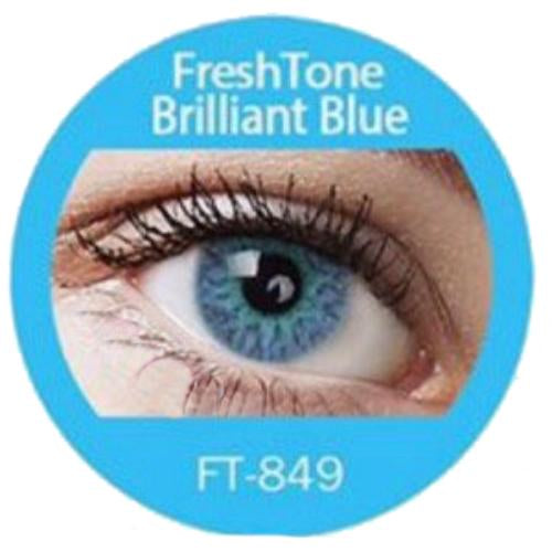 Freshtone Brilliant Blue Contact Lenses