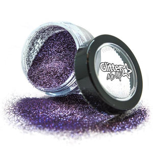 Bio Degradable Glitter - Parma Violet Red