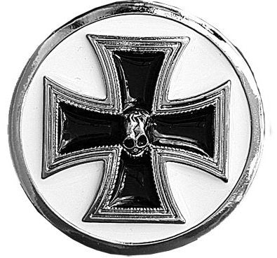 Deaths Black Iron Cross Belt Buckle