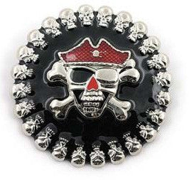 Pirate Skull & Crossbones Belt Buckle