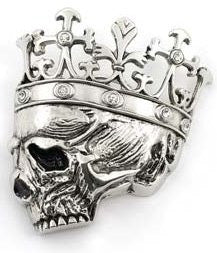 Dead King Belt Buckle