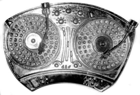 DJ Turntables Belt Buckle