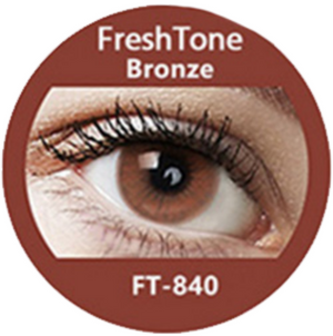 Freshtone Super Naturals: Bronze Contact Lenses