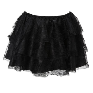 Black Lace 3 Tier Tutu Skirt