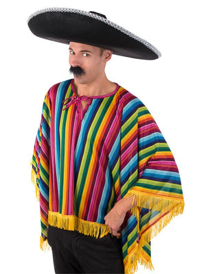 Bright Mexican Poncho