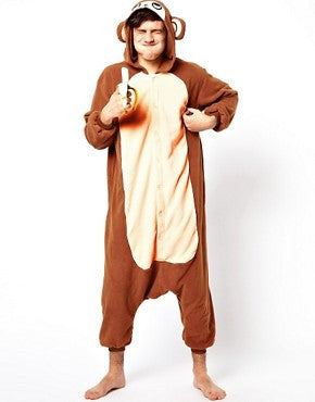 Brown Monkey Onesie