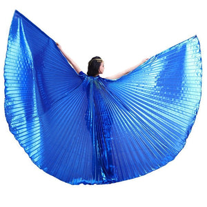 Metallic Blue Isis Wings