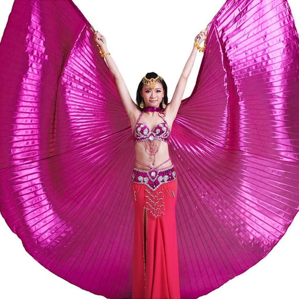 Metallic Pink Isis Wings