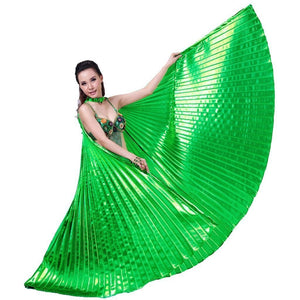 Metallic Green Isis Wings