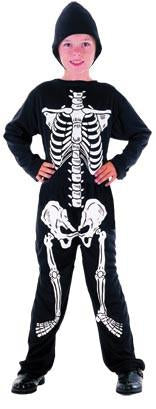 Boy's Skeleton Costume