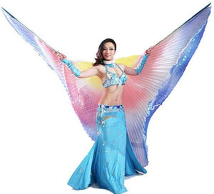 Sheer Rainbow Isis Wings