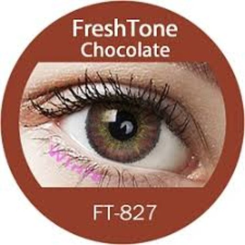 Freshtone Chocolate Brown Contact Lenses