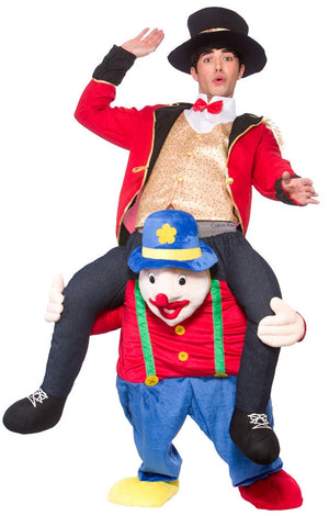 Carry Me: Clown Ride On Costume