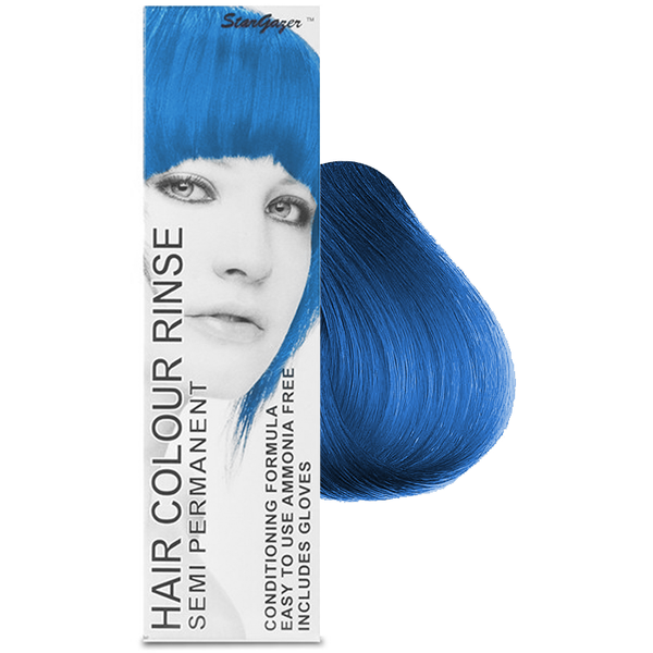 Stargazer - Coral Blue Semi Permanent Hair Dye