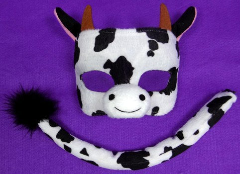 Deluxe Cow Mask and Tail