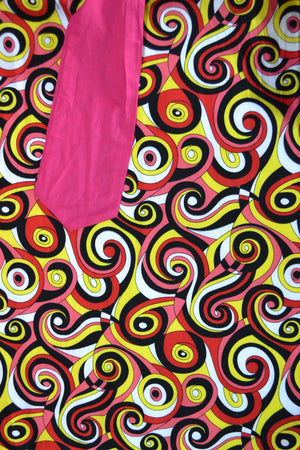 70's Inspired Swirl Dress