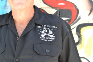 Billy Eight Death Gains Embroidered Button Down Shirt