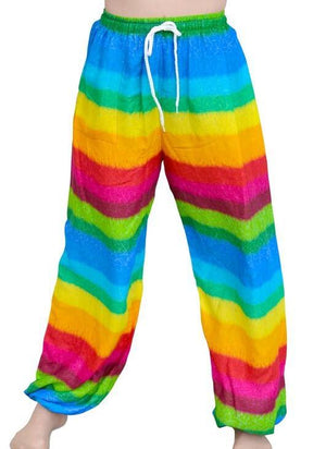 Rainbow Striped Unisex Pants