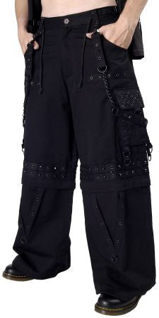 Dead Threads: Convertible Black Bondage Pants (TT1035)