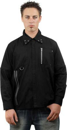Mens Zip Shirt