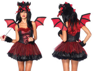 Demon Dragon Ladies Costume