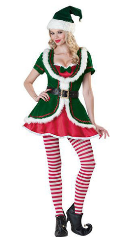 Shop christmas costumes perth hurly burly deluxe ladies elf costume solutioingenieria Image collections