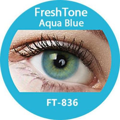 Freshtone Super Naturals: Aqua Blue Contact Lenses
