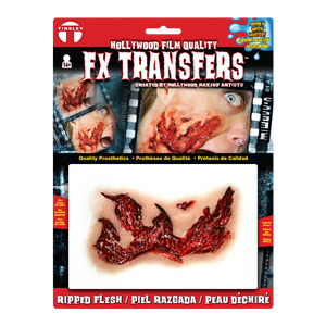 Ripped Flesh Special FX Temporary Tattoo