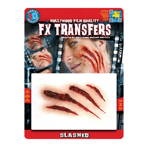 Slashed Special FX Temporary Tattoo