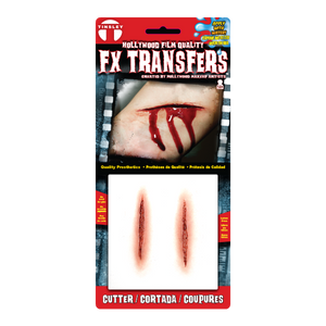 Cut Special FX Temporary Tattoo