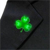 Flashing Shamrock Badge
