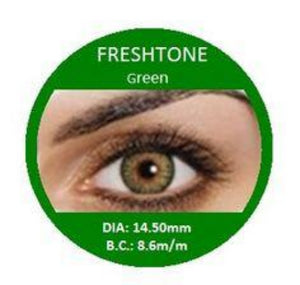 Freshtone Green Contact Lenses