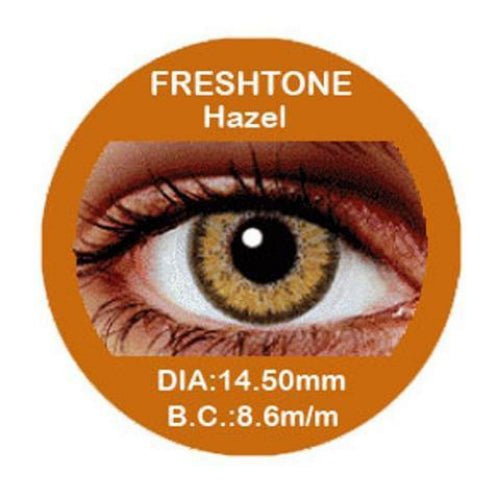 Freshtone Hazel Contact Lenses