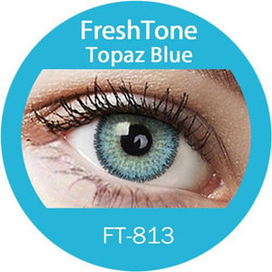 Freshtone Topaz Blue Contact Lenses
