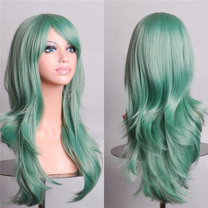 Mint Green Deluxe Wig