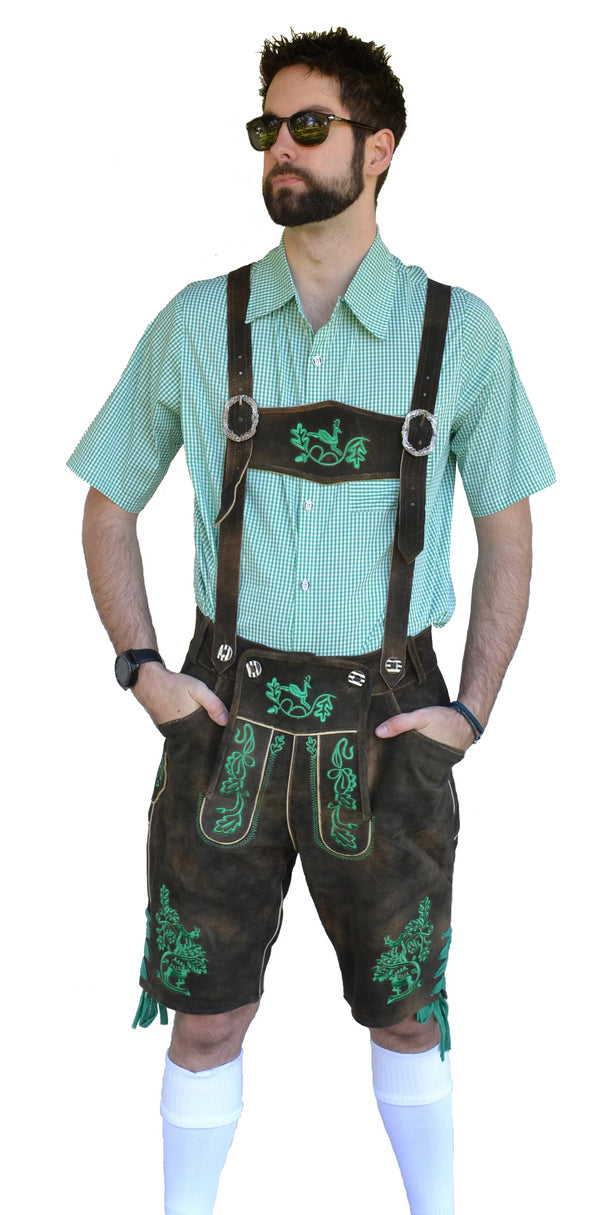 Authentic Leather German Lederhosen
