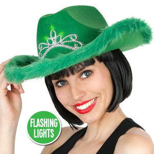 Flashing Saint Patrick's Day Green Hat