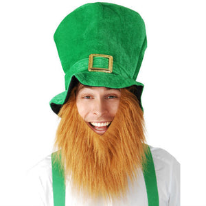 Saint Patrick's Day: Green Hat and  Beard